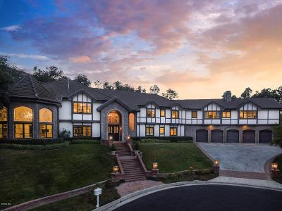 Single Family Home For Sale: 5195 Parkway Calabasas