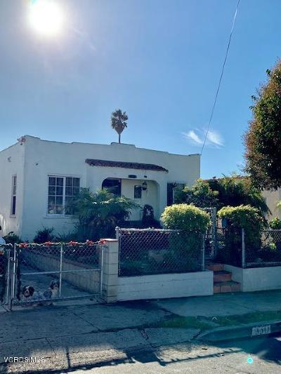 Ventura Single Family Home For Sale: 330 West Center Street