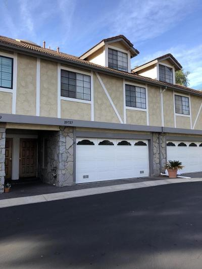 Agoura Hills Condo/Townhouse For Sale: 29727 Canwood Street