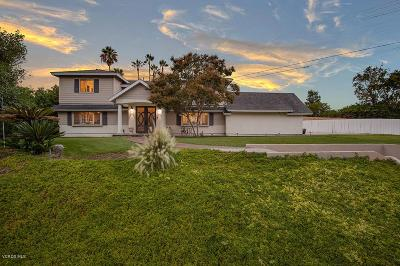 Thousand Oaks Single Family Home For Sale: 1681 Fremont Drive