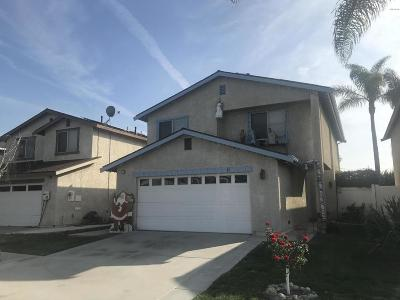 Ventura Single Family Home For Sale: 10174 Carlyle Street