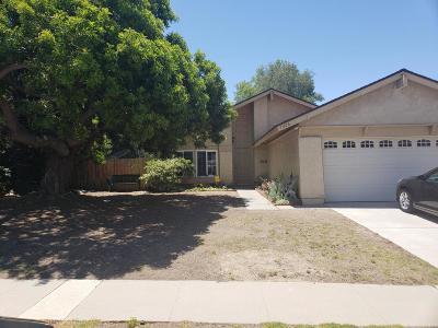 Thousand Oaks Single Family Home For Sale: 1406 Calle De Oro