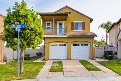 Oxnard Single Family Home For Sale: 5306 Henry Place