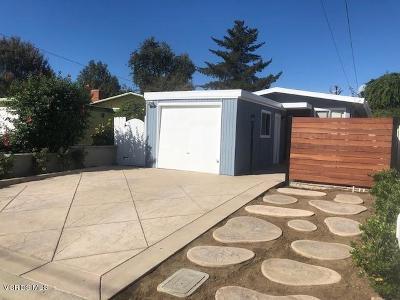 Thousand Oaks Single Family Home For Sale: 727 Beall Street