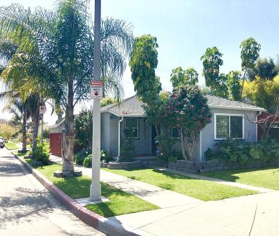 Single Family Home For Sale: 11502 Venice Boulevard