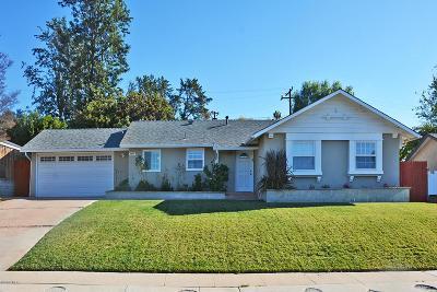 Thousand Oaks Single Family Home For Sale: 2958 Camino Graciosa