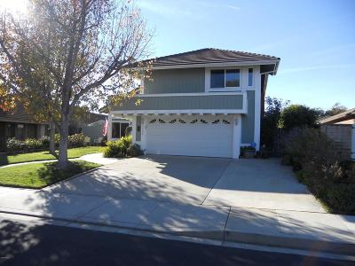 Camarillo Single Family Home Active Under Contract: 1685 Heritage