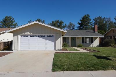 Thousand Oaks Single Family Home For Sale: 2275 Northpark Street