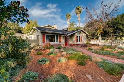 Ojai Single Family Home For Sale: 181 North Encinal Avenue