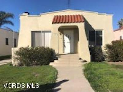 Ventura Single Family Home For Sale: 317 Anacapa Street