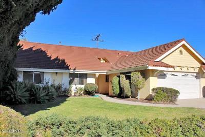 Oxnard Single Family Home For Sale: 1221 Devonshire Drive