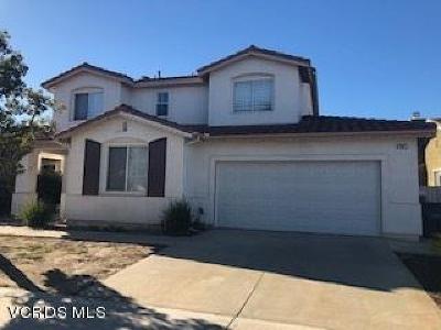 Oxnard Single Family Home For Sale: 841 Olivia Drive
