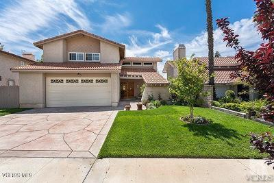 Simi Valley Single Family Home For Sale: 5228 Mohave Drive