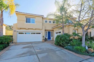 Newbury Park Single Family Home For Sale: 4010 Maurice Drive