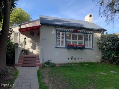 Santa Paula Single Family Home For Sale: 1007 East Virginia Terrace