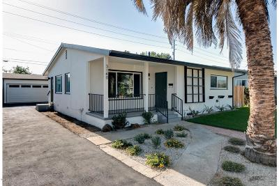 Ventura Single Family Home For Sale: 3140 Channel Drive