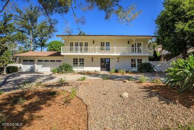 Thousand Oaks Single Family Home For Sale: 2064 Calle Yucca