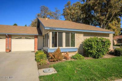 Camarillo Single Family Home Active Under Contract: 25327 Village 25