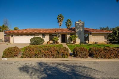Ojai Single Family Home For Sale: 616 Alomar Street