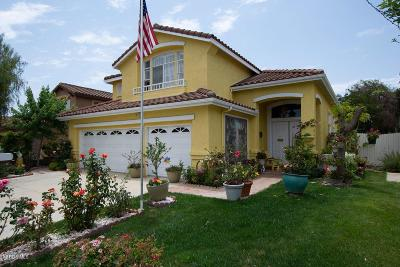 Camarillo Single Family Home Active Under Contract: 454 Avenida Gaviota