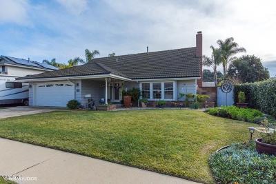Newbury Park Single Family Home For Sale: 2750 Elmira Street