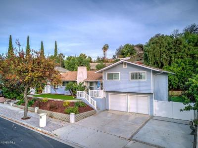Thousand Oaks Single Family Home For Sale: 3384 Pembridge Street