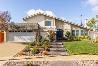 Camarillo Single Family Home Active Under Contract: 2099 Glenbrook Avenue