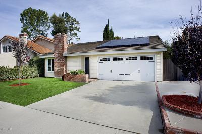 Thousand Oaks Single Family Home For Sale: 2808 Cedar Wood Place
