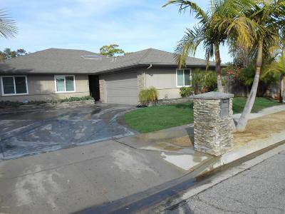 Ventura Single Family Home For Sale: 8247 Bishop Street