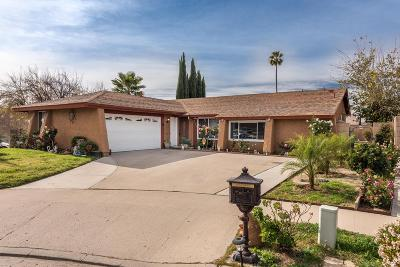 Simi Valley Single Family Home For Sale: 2111 East Chesterton Street