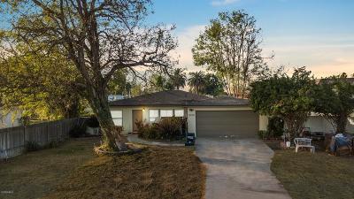 Oxnard Single Family Home For Sale: 3353 Nyeland Avenue