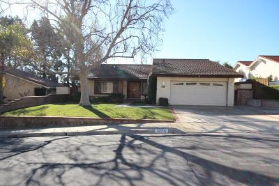 Thousand Oaks Single Family Home For Sale: 1874 Summer Cloud Drive