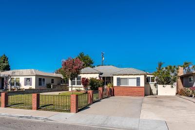 Oxnard Single Family Home For Sale: 615 Doris Avenue