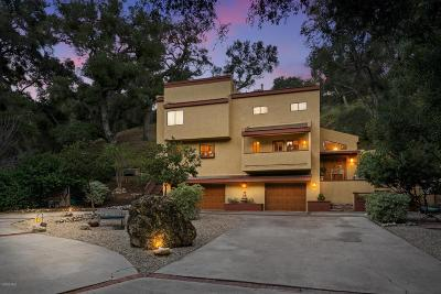 Calabasas Single Family Home For Sale: 833 Malibu Meadows Drive
