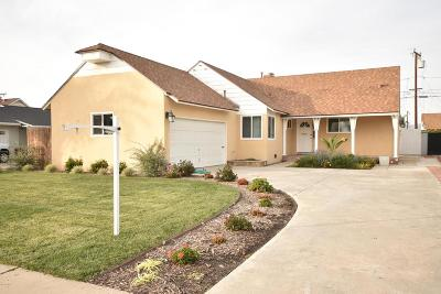 Oxnard Single Family Home For Sale: 1001 Douglas Avenue