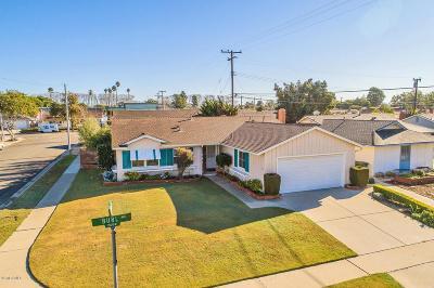 Ventura Single Family Home For Sale: 262 Burl Avenue