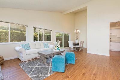 Newbury Park Condo/Townhouse For Sale: 166 Heather Ridge Avenue