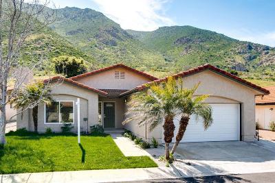 Camarillo Single Family Home For Sale: 6458 San Como Lane