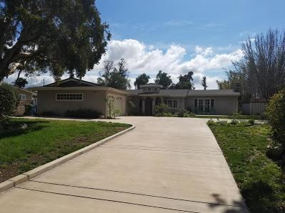 Moorpark Single Family Home For Sale: 10720 Ternez Drive