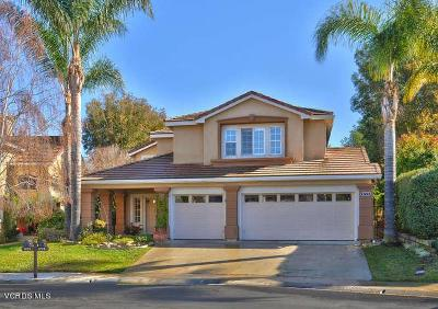 Newbury Park Single Family Home For Sale: 1773 Blue Canyon Street