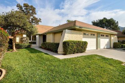 Camarillo Single Family Home For Sale: 28152 Village 28
