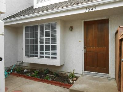Ventura Condo/Townhouse For Sale: 1247 Chelan Lane