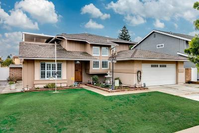 Oxnard Single Family Home For Sale: 2040 Patricia Street