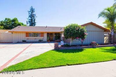 Camarillo Single Family Home For Sale: 1920 Euclid Avenue