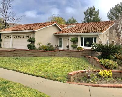 Simi Valley Single Family Home For Sale: 3008 Geronimo Avenue
