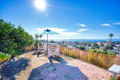 Ventura Single Family Home For Sale: 186 North Kalorama Street