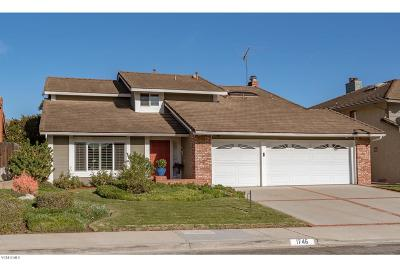 Ventura Single Family Home For Sale: 1746 Isabella Court