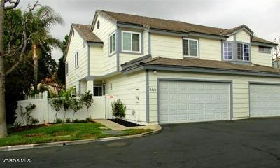 Simi Valley Condo/Townhouse For Sale: 2744 Lemon Drive