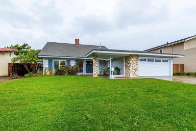 Camarillo Single Family Home For Sale: 3395 Faria Street