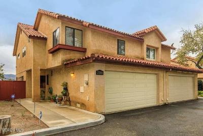 Simi Valley Condo/Townhouse For Sale: 2581 Chandler Avenue